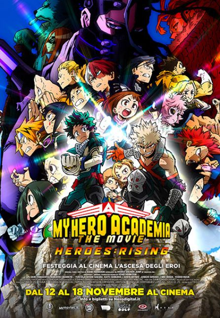 MY HERO ACADEMIA - THE MOVIE 2 | HEROES: RISING - NEXO ANIME 2020